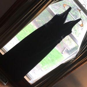 Black Dress from David's Bridal
